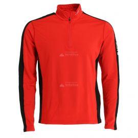 Icepeak, Robin 1/2 zip, camisa termoactiva, hombres, coral rojo
