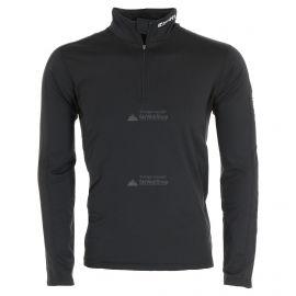 Icepeak, Robin 1/2 zip, camisa termoactiva, hombres, negro