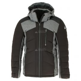 Icepeak, Verdun, chaqueta de esquí, hombres, lead gris