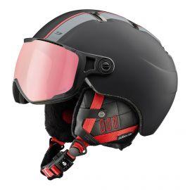 Julbo, Sphere casco con visera rojo/negro