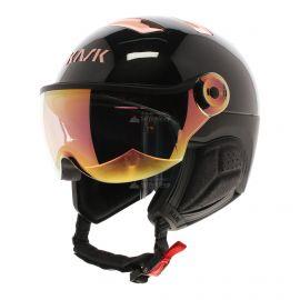 Kask, Chrome Visor casco con visera Pink gold negro