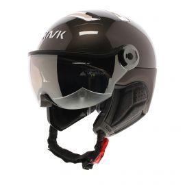 Kask, Chrome Visor, casco con visera, platinum gris