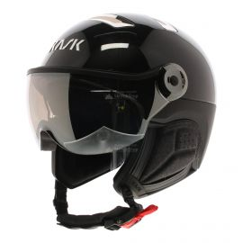 Kask, Chrome Visor casco con visera Silver negro