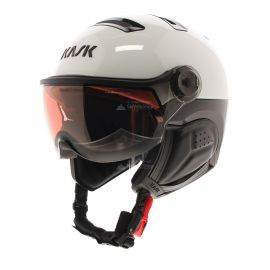 Kask, Class Sport Photochromic casco con visera blanco