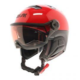 Kask, Montecarlo photochromic, casco con visera, OTG, rojo