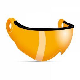 Kask, Piuma R Double Lens Visors visera naranja
