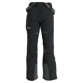 Kilpi, Elare, pantalones de esquí, tallas extra grandes, mujeres, negro