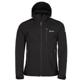 Kilpi, Elio, chaqueta de esquí softshell, hombres, negro