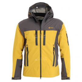 Kilpi, Hastar chaqueta de esquí hardshell hombres amarillo
