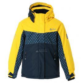 Kilpi, Mils JG chaqueta de esquí niños amarillo