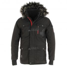 Kilpi, Pilot, chaqueta de invierno, hombres, negro