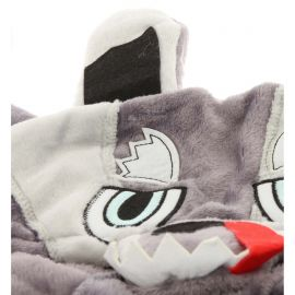 KnowHow, Onesie, accesorios, Wolf gris