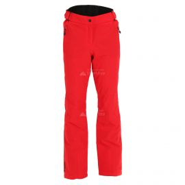 Maier Sports, Vroni, pantalones de esquí, tallas extra grandes, mujeres, fire rojo