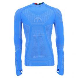 Mico, Man long sleeves mock neck, camisa termoactiva, hombres, principe azul