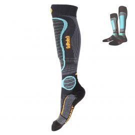 Monnet, Gelprotech, calcetines de esquí, negro