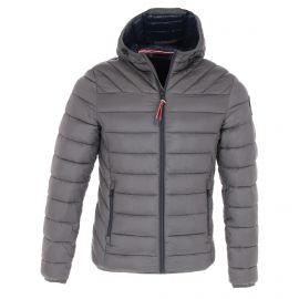 Napapijri, Aerons, chaqueta de invierno, hombres, solid gris