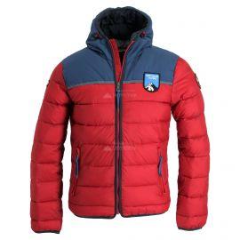 Napapijri, Aric, chaqueta de invierno, hombres, Scarlet rojo