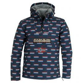 Napapijri, Rainforest Speed anorak, chaqueta de invierno, hombres, graphic azul