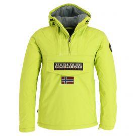 Napapijri, Rainforest Winter, chaqueta de invierno, hombres, Lime amarillo