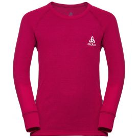 Odlo, Active Warm Kids BL, camisa termoactiva, niños, cerise rojo
