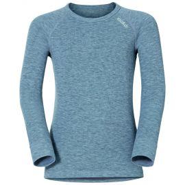 Odlo, Active Warm Kids BL, camisa termoactiva, niños, gris