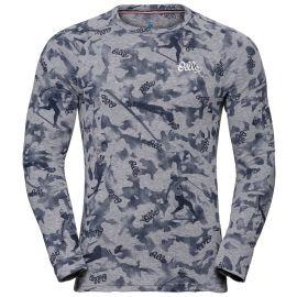 Odlo, Active Warm Originals BL, camisa termoactiva, hombres, gris
