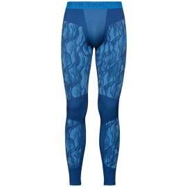 Odlo, Blackcomb BL, pantalón termoactivo, hombres, azul