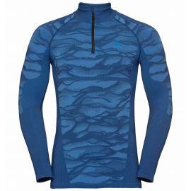 Odlo, Blackcomb BL, camisa termoactiva, hombres, azul