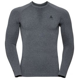 Odlo, Performance Warm BL, camisa termoactiva, hombres, gris
