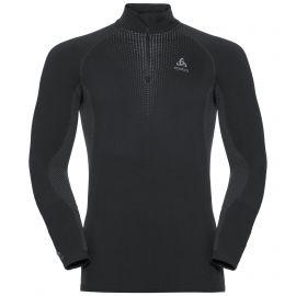 Odlo, Performance Warm BL, camisa termoactiva, hombres, negro