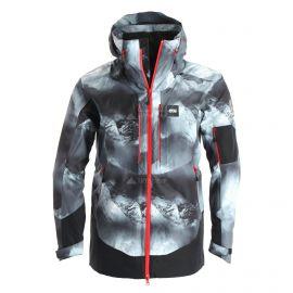Picture, Track, chaqueta de esquí, hombres, aravis print negro