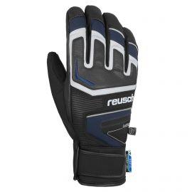 Reusch, Thunder R-tex, guantes de esquí, hombres, dress negro