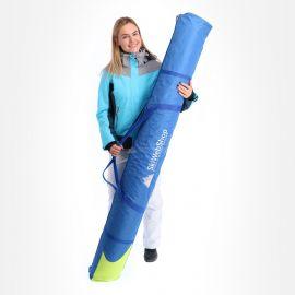 SL Bags, De Luxe met logo 185cm., bolso de esquí, azul