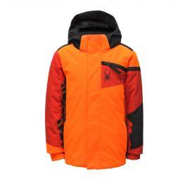 Spyder, Challenger, chaqueta de esquí, niños, bryte naranja
