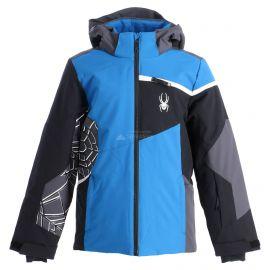 Spyder, Challenger, chaqueta de esquí, niños, old glory azul/negro
