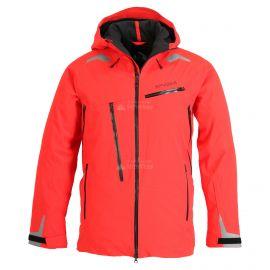 Spyder, Hokkaido GTX, chaqueta de esquí, modelo largo, hombres, volcano rojo