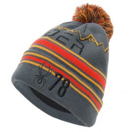 Spyder, Icebox hat, gorro, ebony gris