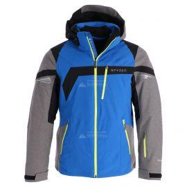 Spyder, Titan, chaqueta de esquí, hombres, sea azul/tfl gris/negro/acid amarillo