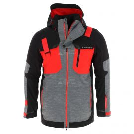 Spyder, Tordrillo GTX, chaqueta de esquí, modelo largo, hombres, rojo/negro