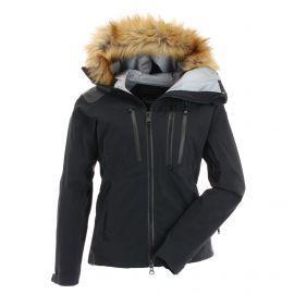 Tenson, Kamya, chaqueta de esquí hardshell, mujeres, negro