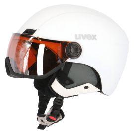 Uvex, casco con visera OTG blanco