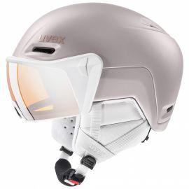 Uvex, Hlmt 700 visor, casco con visera, rosa
