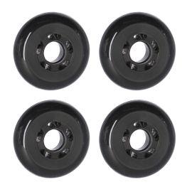Pro Ski Simulator, ruedas de repuesto, accesorios, negro