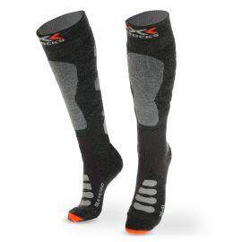 X-socks, SKI SILK MERINO 4.0, calcetines de esquí, gris