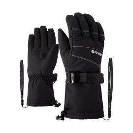 Ziener, Gannik AS, guantes de esquí, negro
