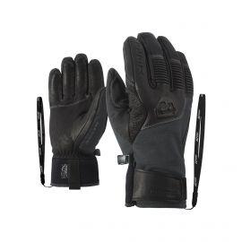 Ziener, Ganzenberg AS AW, guantes de esquí, iron tec gris