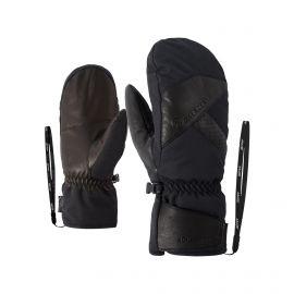 Ziener, Gettero, guantes, negro