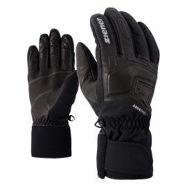 Ziener, Glyxus AS guantes de esquí unisex iron tec gris