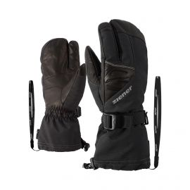 Ziener, Gofrieder AS AW Lobster guantes hombres iron tec gris