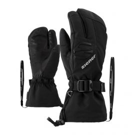 Ziener, Gofrieder AS AW Lobster guantes hombres negro